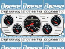 37 38 Chevy Car Billet Aluminum Gauge Panel Dash Insert Instrument Cluster 1938