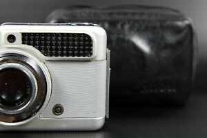 [*Exc+4 *Meter Works] Vintage Silver Skin Canon Demi 35mm Film Camera from Japan
