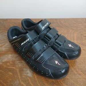 Specialized Sport Touring 6101-5544 Mens Size 11.5 Road Cycling Shoes Black 45