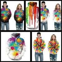 Graphic Mens Jumper Sweatshirt Womens Pullover 3D Print Hoodie Tops Hooded