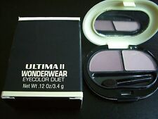Ultima ll Wonderwear Eye Shadow Duet Wonder Lilac Wonder Lavender Boxed New