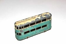 Dinky Toys Pre War 2 Tone Blue/Cream Tram Bus # 27 With Metal Wheels !!