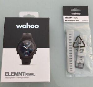 Wahoo Elemnt Rival *Brand new boxed 2021 GPS Watch incl spare Kona White Strap