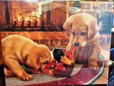 Holiday Gift Bag and Card Dog Puppy Lab Christmas Hunting Duck Buy 4 Get 1 FREE