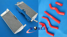 aluminum alloy radiator+ hose Honda CR125 CR 125R CR125R 2-stroke 1989 89