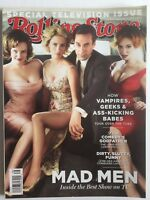 MAD MEN JON HAMM JANUARY JONES CHRISTINA HENDRICKS 2010 ROLLING STONE Magazine