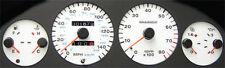 Lockwood Fiat Punto GT Mk1 1994-1999 RED (W) Dial Kit 40VVV
