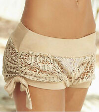Women Underpants Lace Briefs Boxers Underwear Panties Short Hot Pants Beachwear