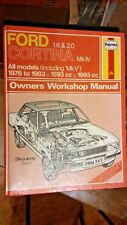 FORD CORTINA MK IV 1.6 & 2.0 ALL MODELS INC MKV 1976-1983 1593CC 1993CC