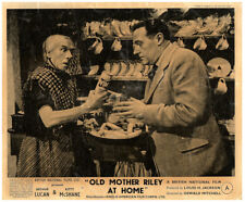 OLD MOTHER RILEY AT HOME Original Lobby Card Arthur Lucan 1945 in kitchen