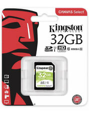 Kingston Canvas Select SD SDHC Memory Card Class 10 UHS-I 80MB/s - 32GB