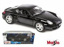 MAISTO 1:18 SPECIAL EDITION PORSCHE CAYMAN S Diecast Car Model Black 31122BK