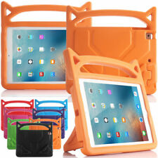 For iPad 6th 5th Gen 9.7 Mini 54321 Air 12 Cute Kids Safe Stand Hard Case Cover