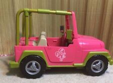 """Pink Our Generation OG Jeep for 18"""" Dolls - 4x4 Car Fits American Girl Dolls"""