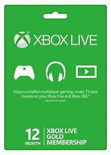 Xbox Live Gold 12 Month Membership (VPN REQUIRED-Very Easy Steps) Fast Delivery!
