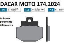 174.2024 PLAQUETTE DE FREIN SINTERED POLINI PIAGGIO : SUPER HEXAGON 125 GTX
