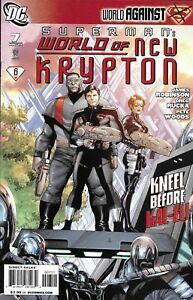 Superman Comic 7 World Of New Krypton Cover A Gary Frank First Print 2009 DC