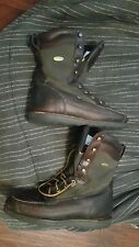 Red Wing Irish Setter Sport Hunting Work Anything Boots 8 inch Leather 10 D 306