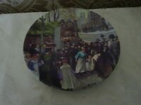 Royal Worcester Collectors Plate Good Old Days Collection The Punch & Judy man