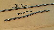 Harley Brake and Shifter Rods 36-57 Knucklehead Panhead Flathead Rigid Frame