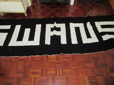 BLANKET/BED THROW ...SWANS.   SWANSEA CITY  AFC HAND MADE