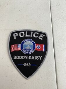 Soddy Daisy Police Department Tennessee Patch