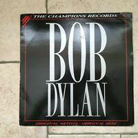 Bob Dylan _ The Champions Records _ Disco Vinile LP 33giri_1988 Targa Italy RARE