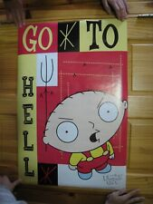 Family Guy Poster Go To Hell Stewie Griffin OOP