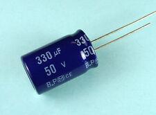 4pcs Panasonic SU 330uF 50v BP NP Bi-polar Radial Electrolytic Capacitor