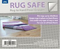 Anti Slip Rug Carpet Gripper Underlay for Hard Wood Laminate Floors - 65 x 95cm