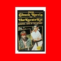 ☆MARTIAL ARTS HISTORY BOOK:FROM CHUCK NORRIS TO%THE KARATE KID:KARATE IN MOVIES☆