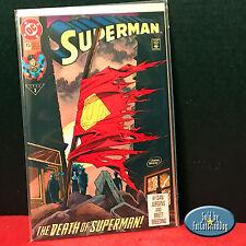 SUPERMAN #75 DEATH OF SUPERMAN DIRECT SALES ED.1 ST PRINT! DC COMICS 1993 VF/NM