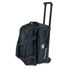 Brunswick Zone 2 Ball Roller Bowling Bag Color Black