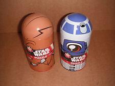 Star Wars Chewbacca & R2D2 Tin Capsule Puzzle 100 Piece Puzzle