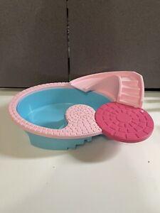 Vtg American Plastic Toys Barbie Sized Swimming Pool Rare HTF Well Made Vtg?