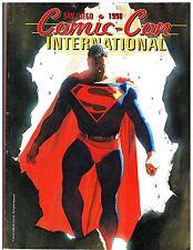 San Diego Comic-Con International Souvenir Program Book 1998 Alex Ross Cover