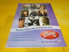DION - LAVOINE - VOISINE - NOAH - FABIAN - Publicité de magazine / Advert !!!