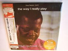 "Oscar Peterson ""The Way I really Play"" Japan mini lp SHM CD"