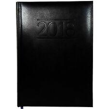 Sigma Buchkalender 2018 schwarz Größe DIN A5 Wochenplaner Büro Chef Kalender