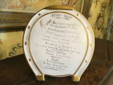 Antique French Pottery Menu Restaurant Food