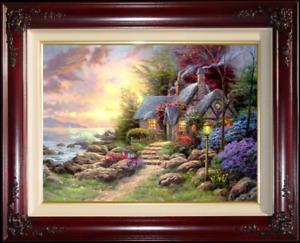 Thomas Kinkade ~ Seaside Hideaway 25.5 x 34 S/N
