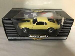 ERTL American Muscle 1:18 Scale 1970 Mustang 351 Mach 1 Mag Wheels