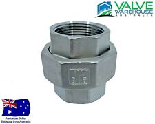 """Union Stainless Steel 316 - BSP - 6mm (1/8"""") - 100mm (4"""")"""
