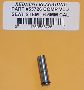 55726 REDDING VLD COMPETITION SEATING DIE STEM - 6.5MM CAL - NEW - FREE SHIP