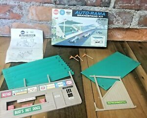 Vintage 60s Auto-Rama Grandstand Kit Gilbert  For Parts Not Complete