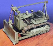 Construction Battalion 1/35 US M1 Bulldozer Caterpillar D7 Tractor WWII CO 0061