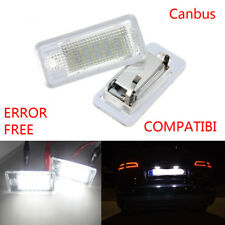 1 Set LED SMD Kennzeichenbeleuchtung Audi A3 8P A4 B6 B7 A5 A6 4F Q7 FREI
