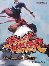 Street Fighter The Complete History Capcom English Art Book Manga Anime MINT