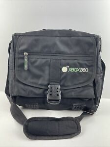 Rare XBox 360 Gaming Console Messenger Shoulder Carry Bag Travel Tote Case