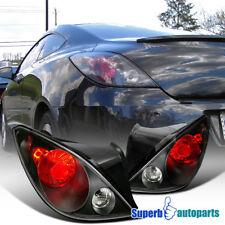 2006 2009 Pontiac G6 Euro Replacement Tail Lamps Brake Lights Black